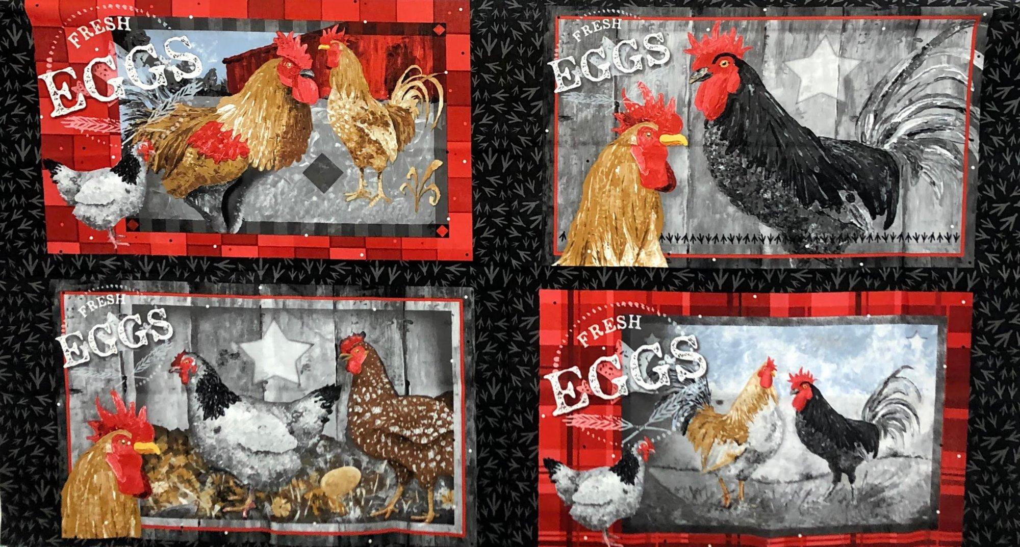 Chicken Scratch Panel 9296P-99