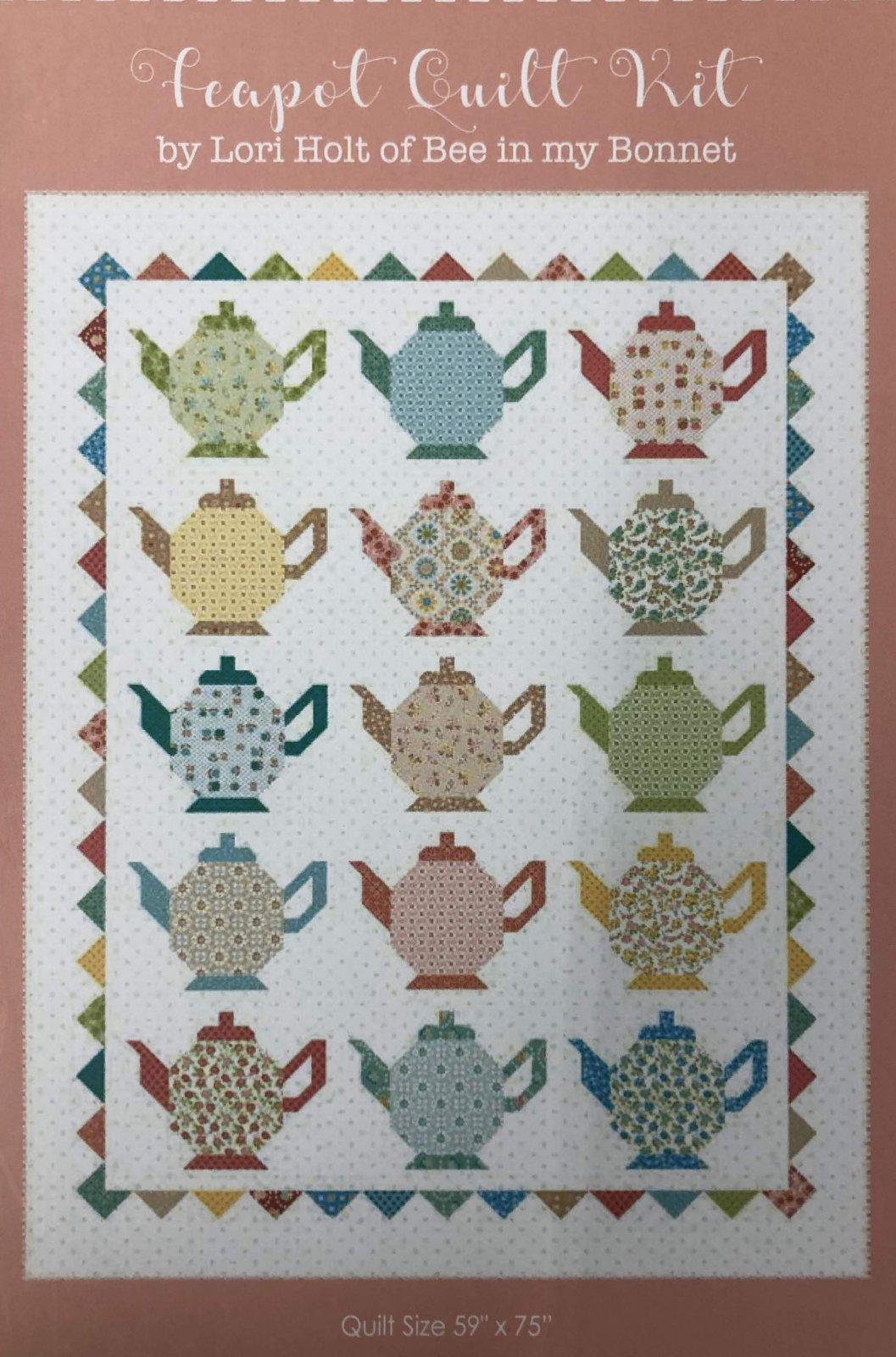 Teapot Quilt Kit by Lori Holt