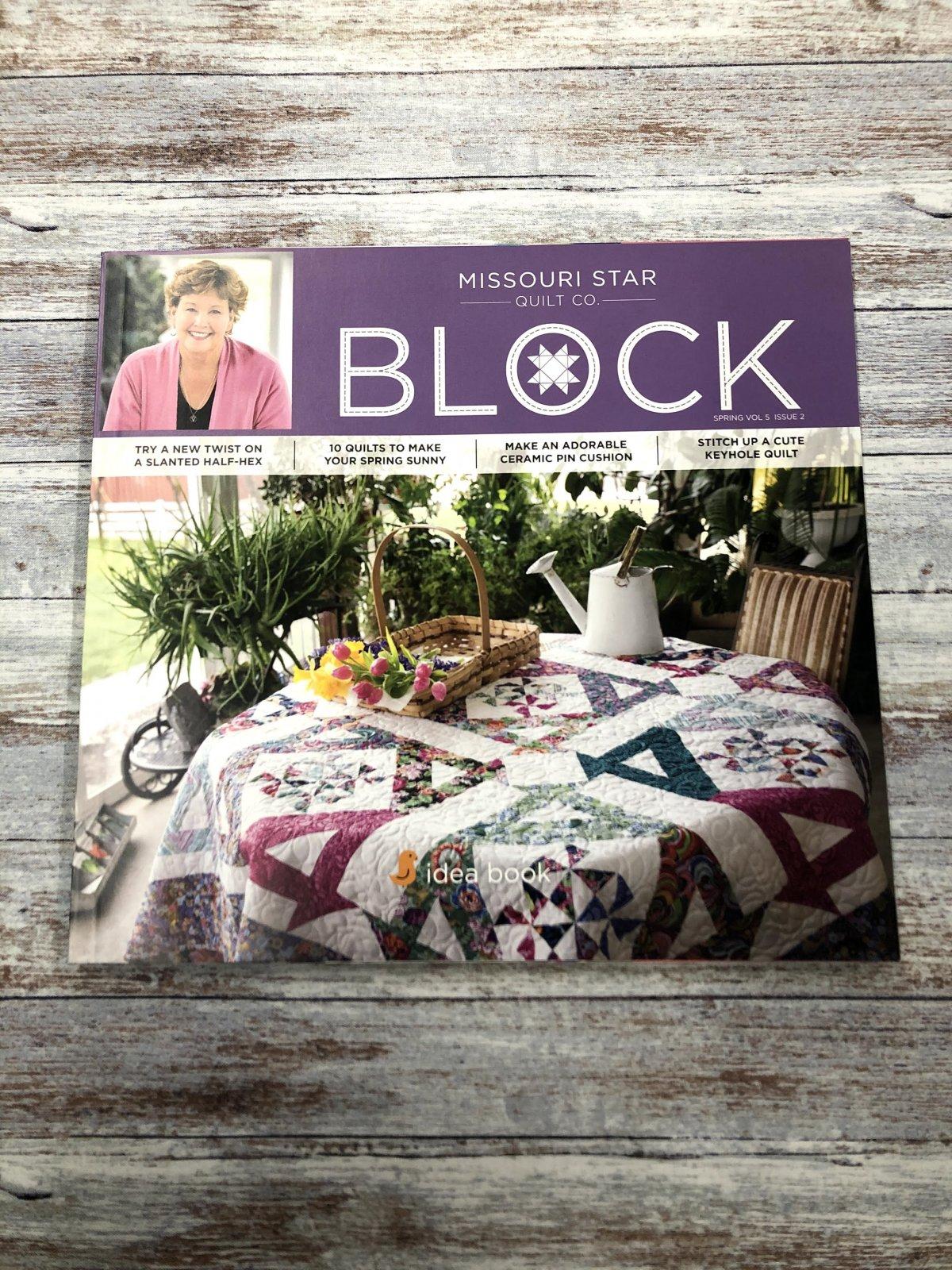 Missouri Star Block Spring 2018 Vol 5 Issue 2