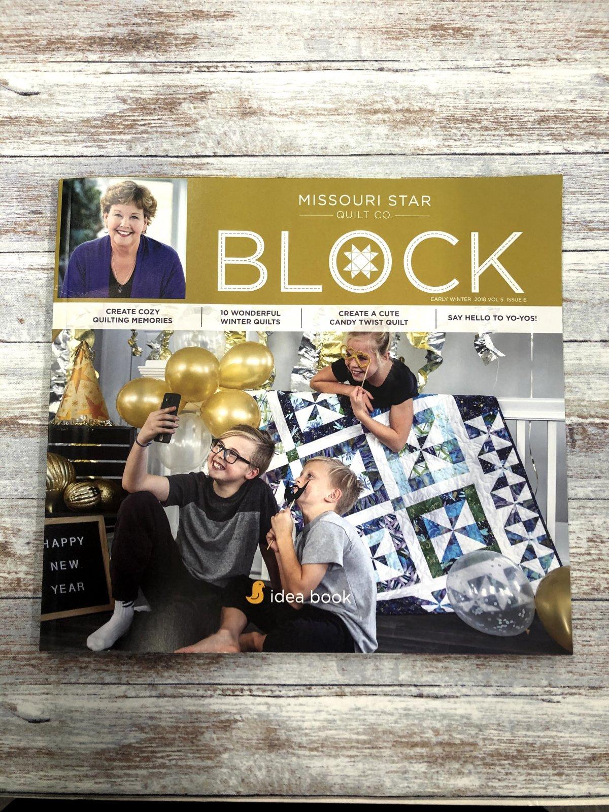 Missouri Star Block Early Winter 2018 Vol 5 Issue 6