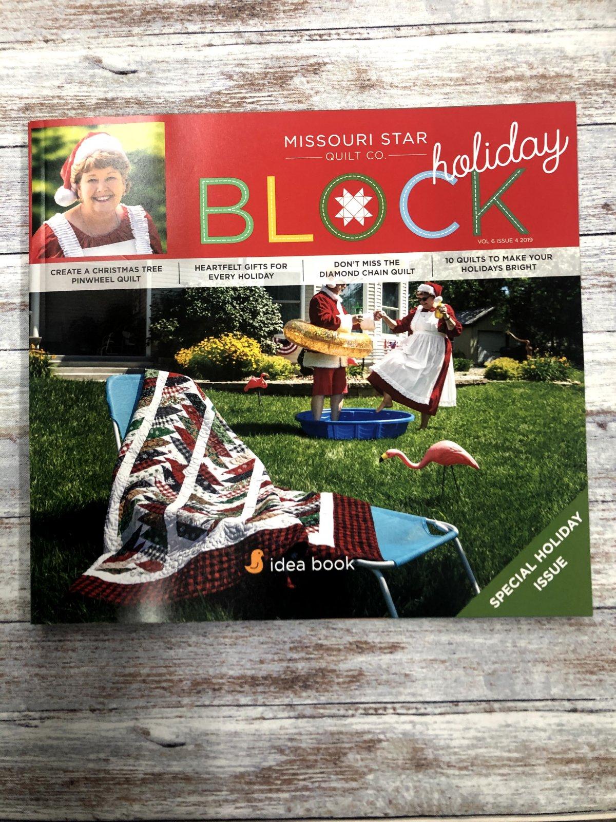 Missouri Star Block Holiday 2019 Vol 6 Issue 4