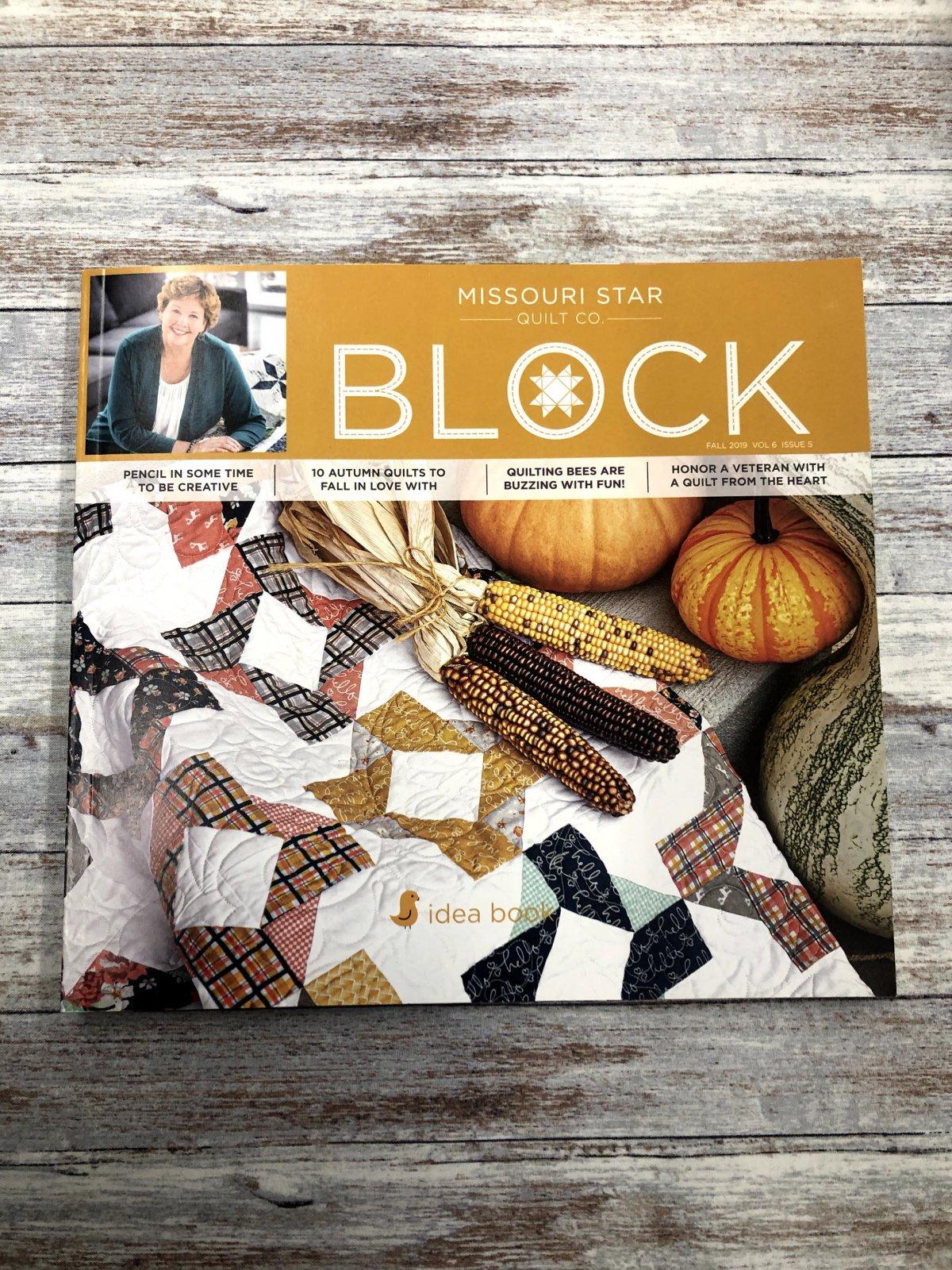 Missouri Star Block Fall 2019 Vol 6 Issue 5