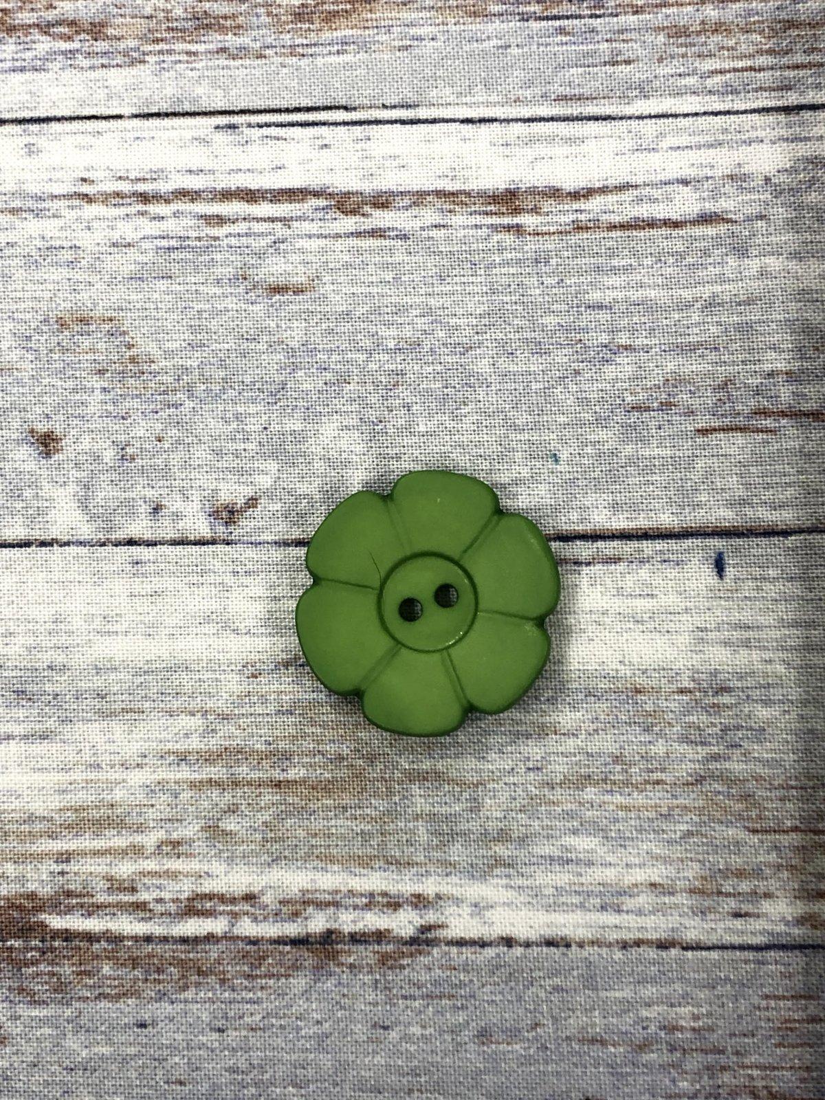 Dill-Buttons 20 Dark Green Flower