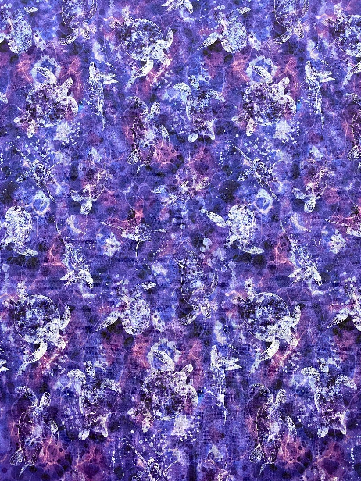 Purple Tonal Turtles