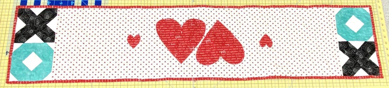 Warm Your Heart Table Runner Kit