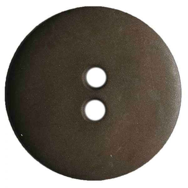 Brown 1/2  2 Hole Button