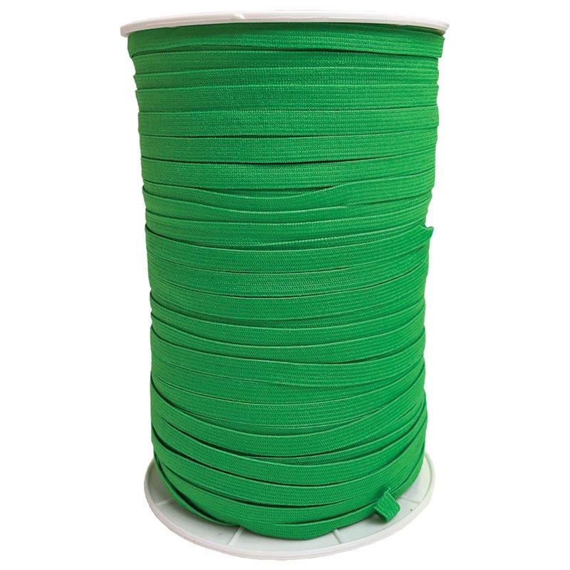 1/4 Soft Elastic Emerald Latex Free