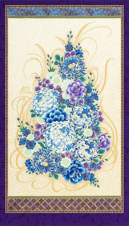 Imperial Floral Panel