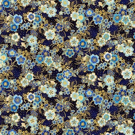 Imperial Collection Small Floral Blue