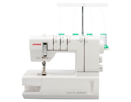 Janome CoverPro 2000CPX Coverstitch Sewing Machine