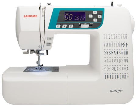 Janome 3160QDC-B Sewing Machine