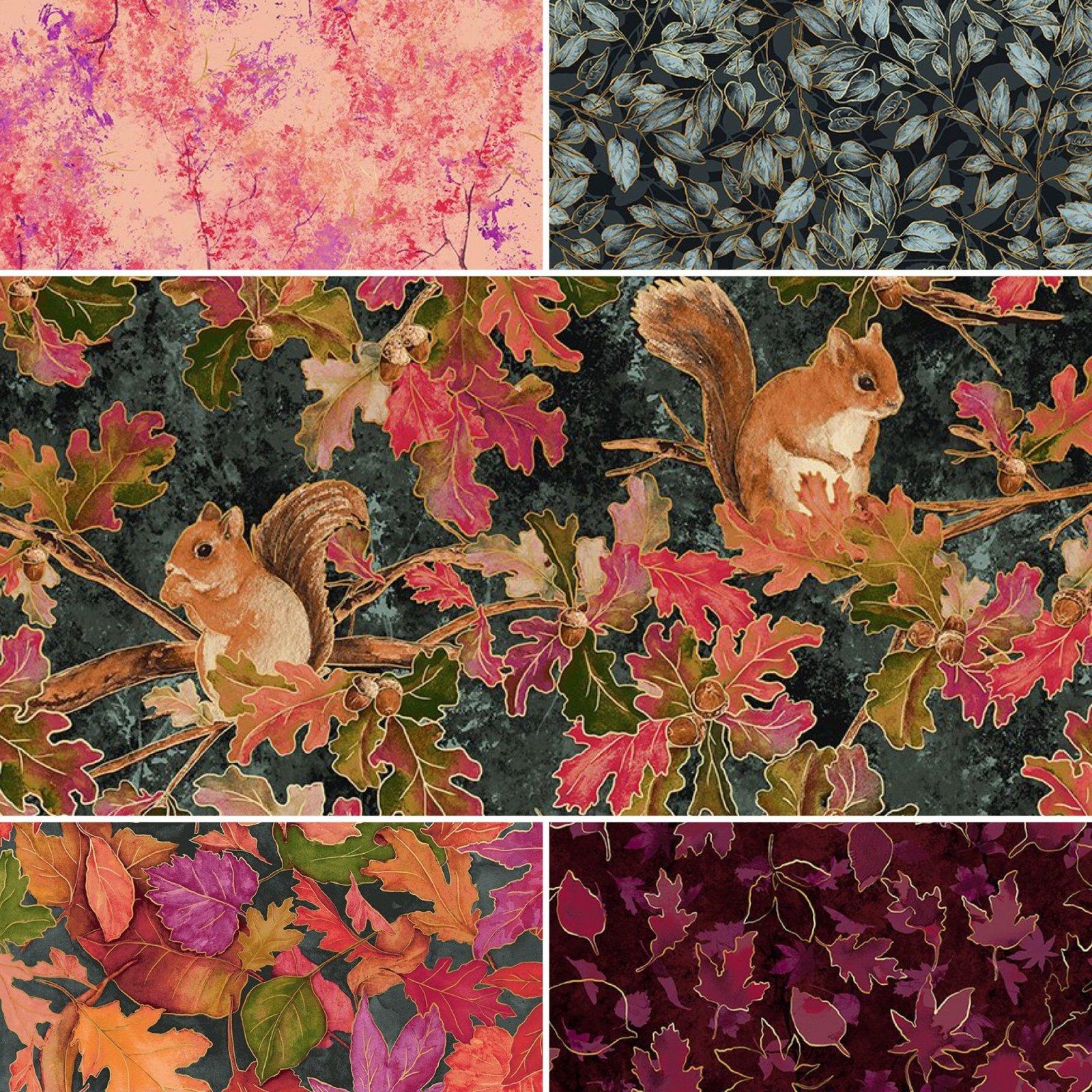 5FQB Shades of Autumn Fall Metallics