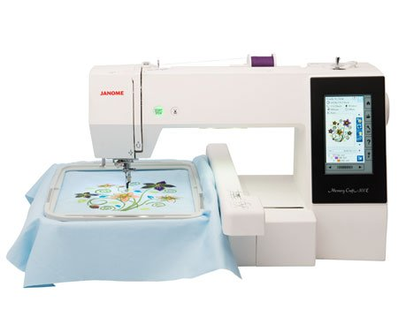 Janome Memory Craft 500E Embroidery Sewing Machine