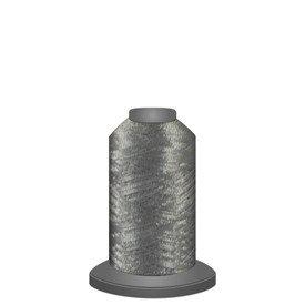 Glisten Metallic Deep Silver 670M Mini Spool