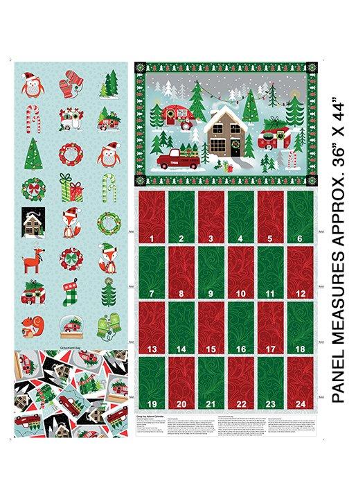 Camp Joy Advent Calendar Kit