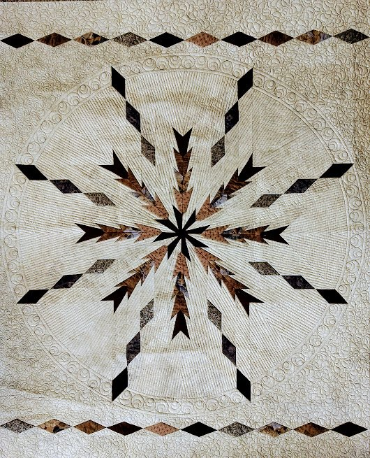 Sand Dollar Quilt Pattern