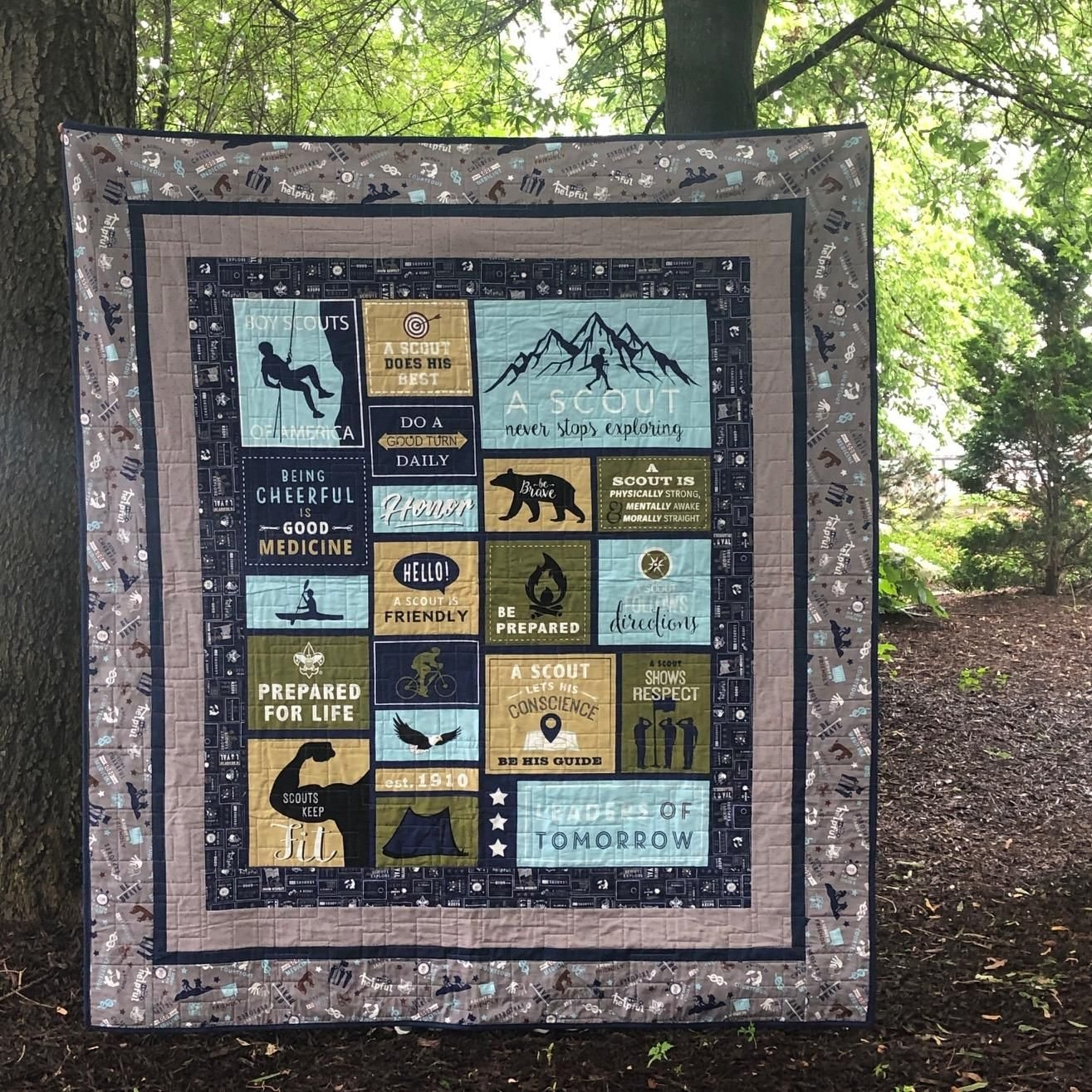 A Scout Is... Panel Quilt Kit
