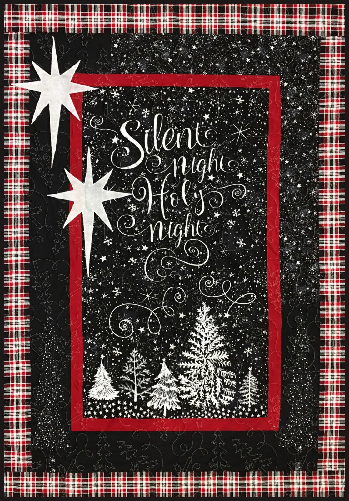 Silent Night All Is Bright Kit 43 x 60