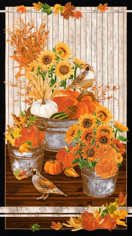 Giving Thanks Fall Panel 24x44