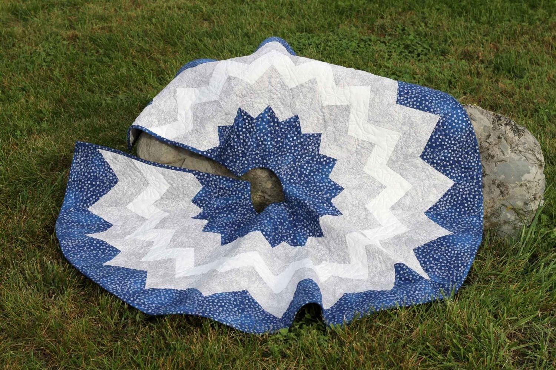 Blue & White Tree Skirt