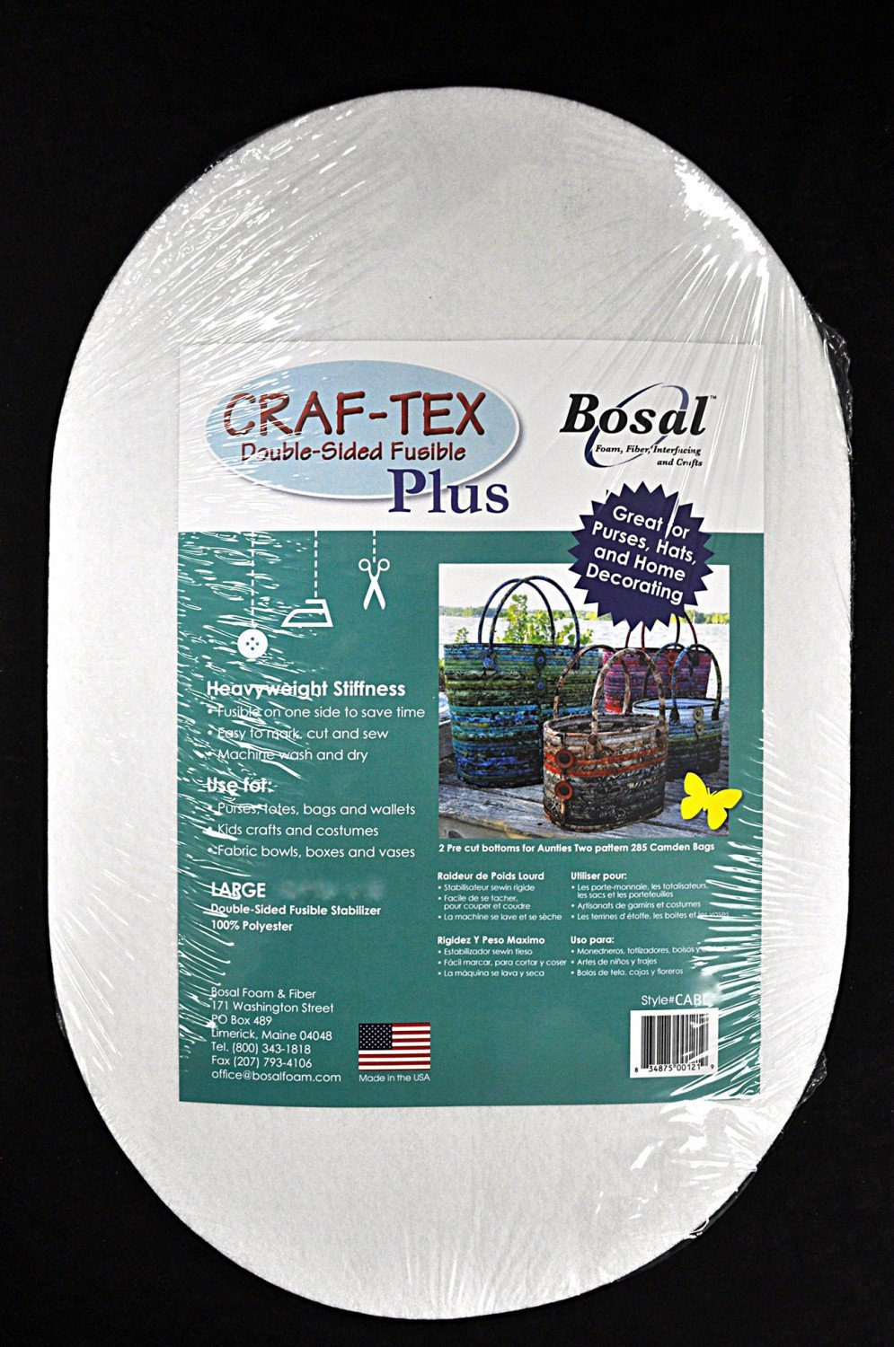 Craf-Tex Camden Bag Large Double Sided Fusible