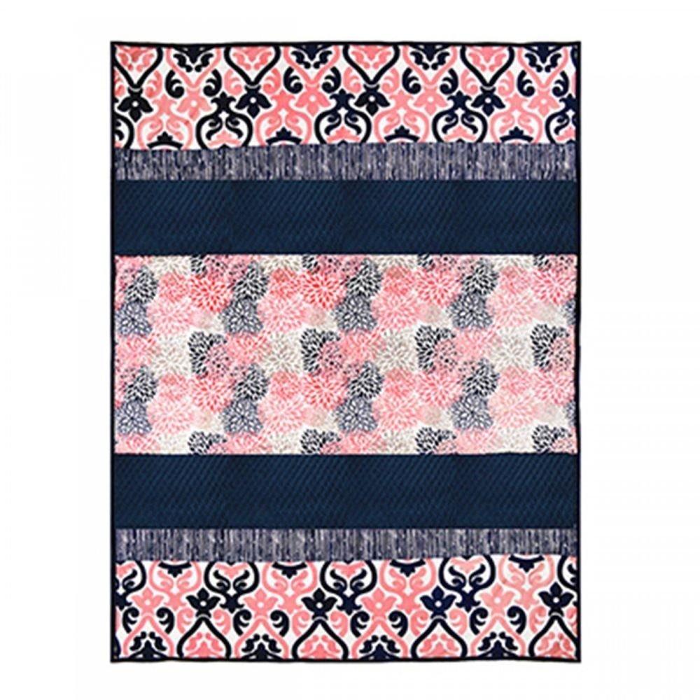 Coral Crush Blanket Throw Kit