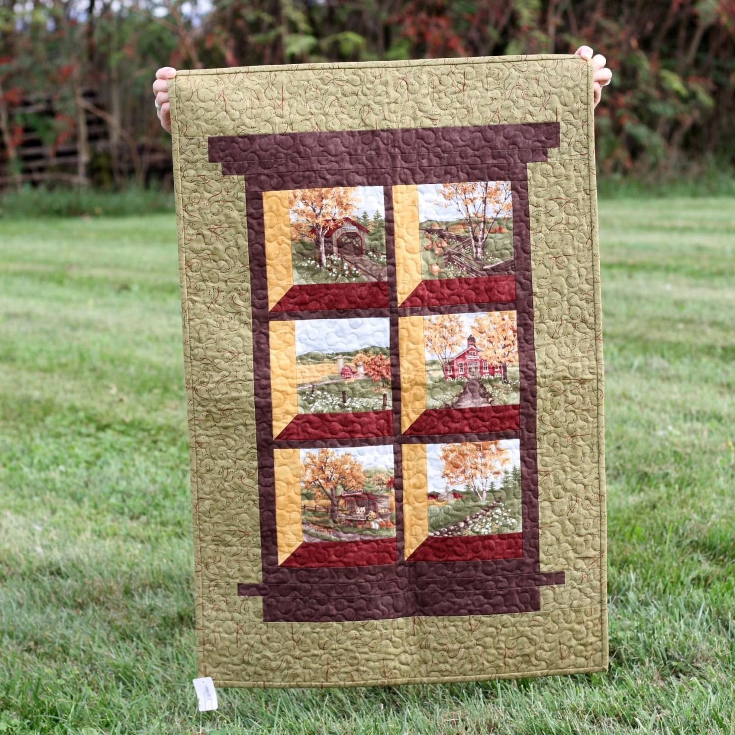 Country Roads Wall Hanging