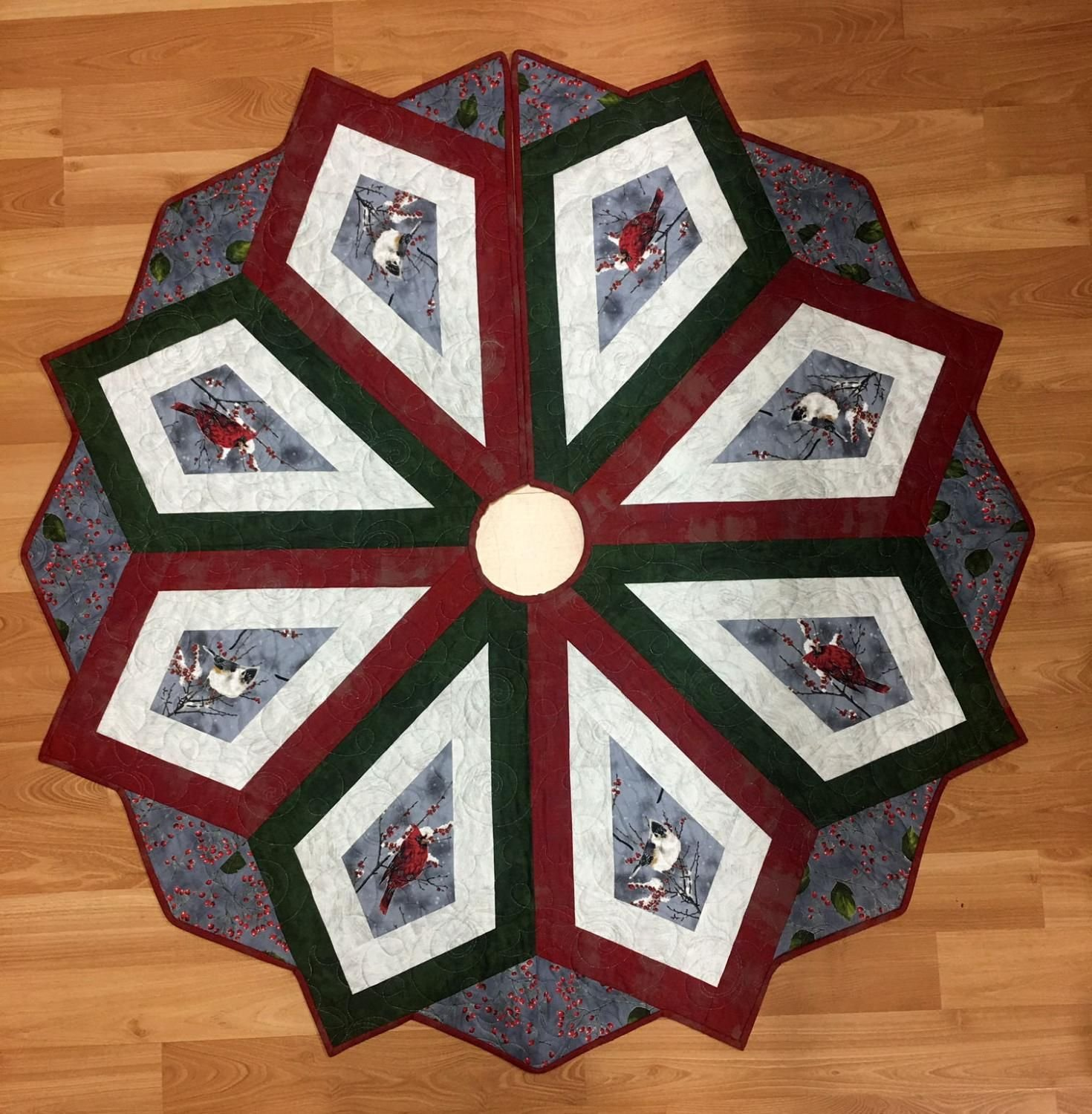 Christmas Magic Tree Skirt Kit