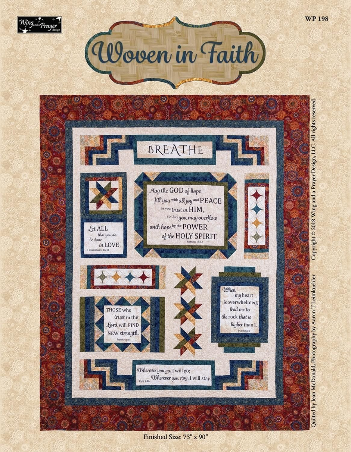 Woven In Faith Quilt Kit