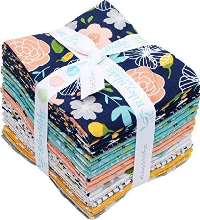 21FQB Azure Skies Fat Quarter Bundle