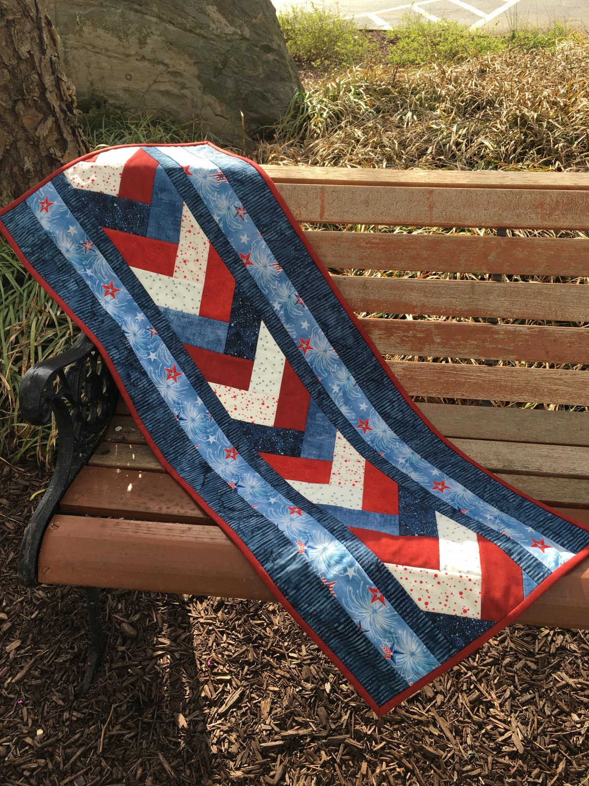 Venice Table Runner Kit Patriotic