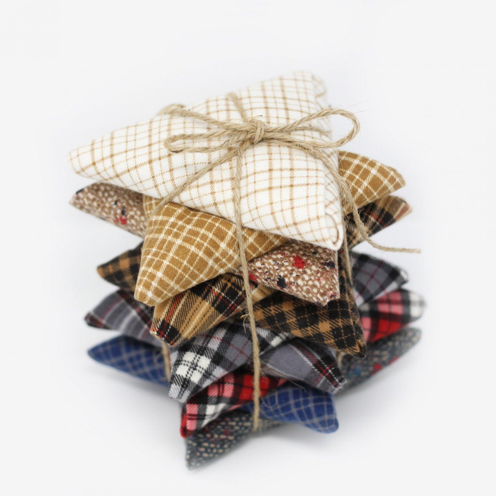 10FQB Mad For Plaid Flannel Bundle