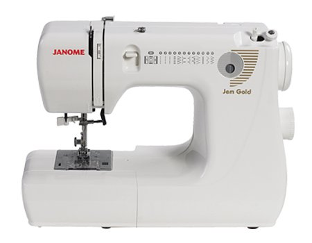 Janome 660 Jem Gold Sewing Machine