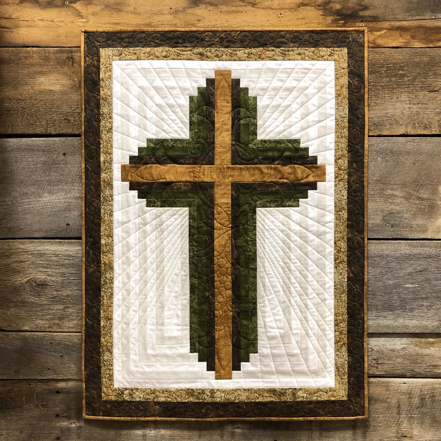 Log Cabin Christian Cross Kit