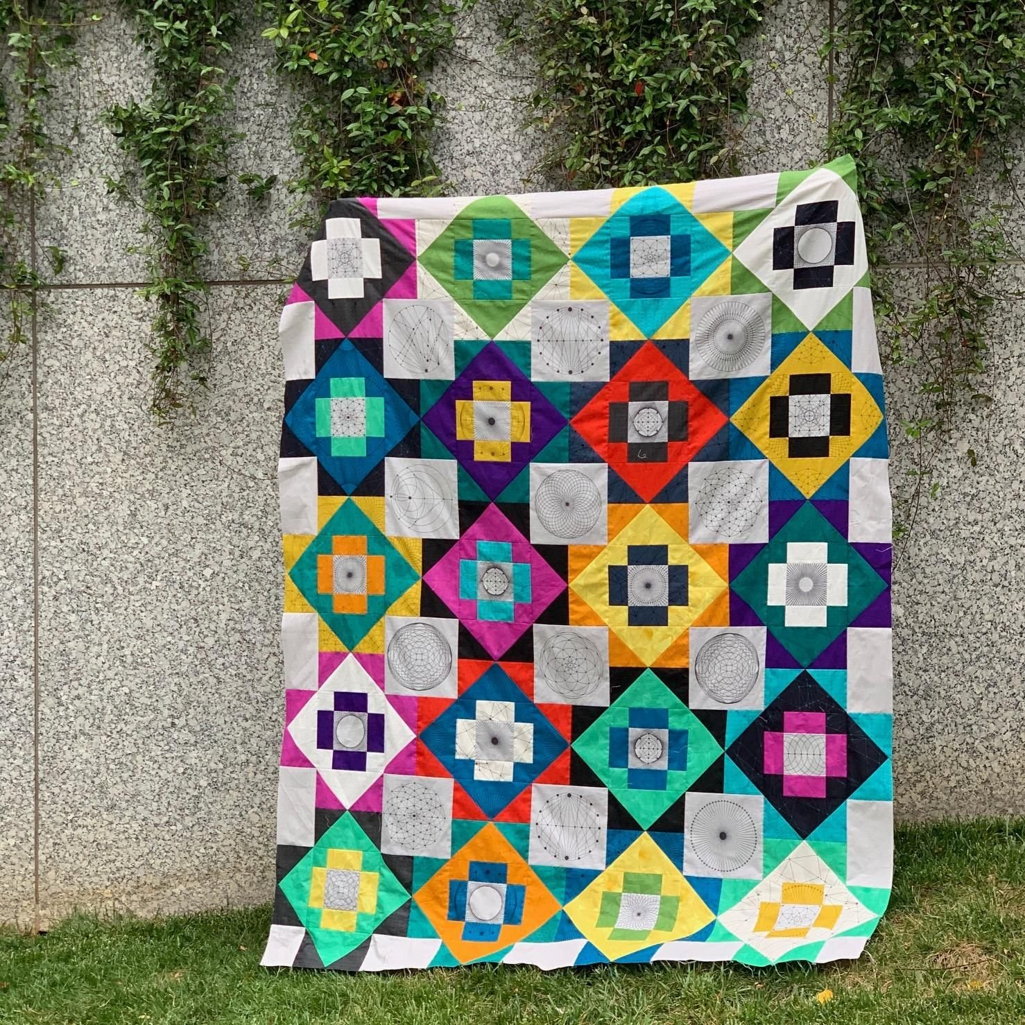 Meadowland Redux Throw Size Kit