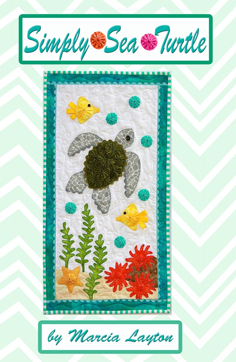 Simply Sea Turtle Wall Hanging Pattern