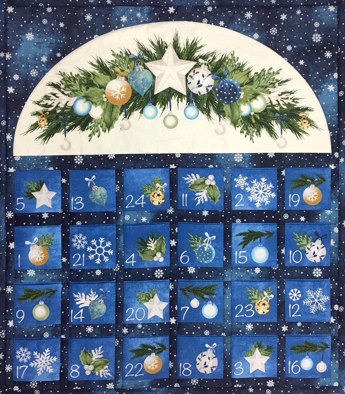 O Christmas Tree Advent Calendar Ready-Made