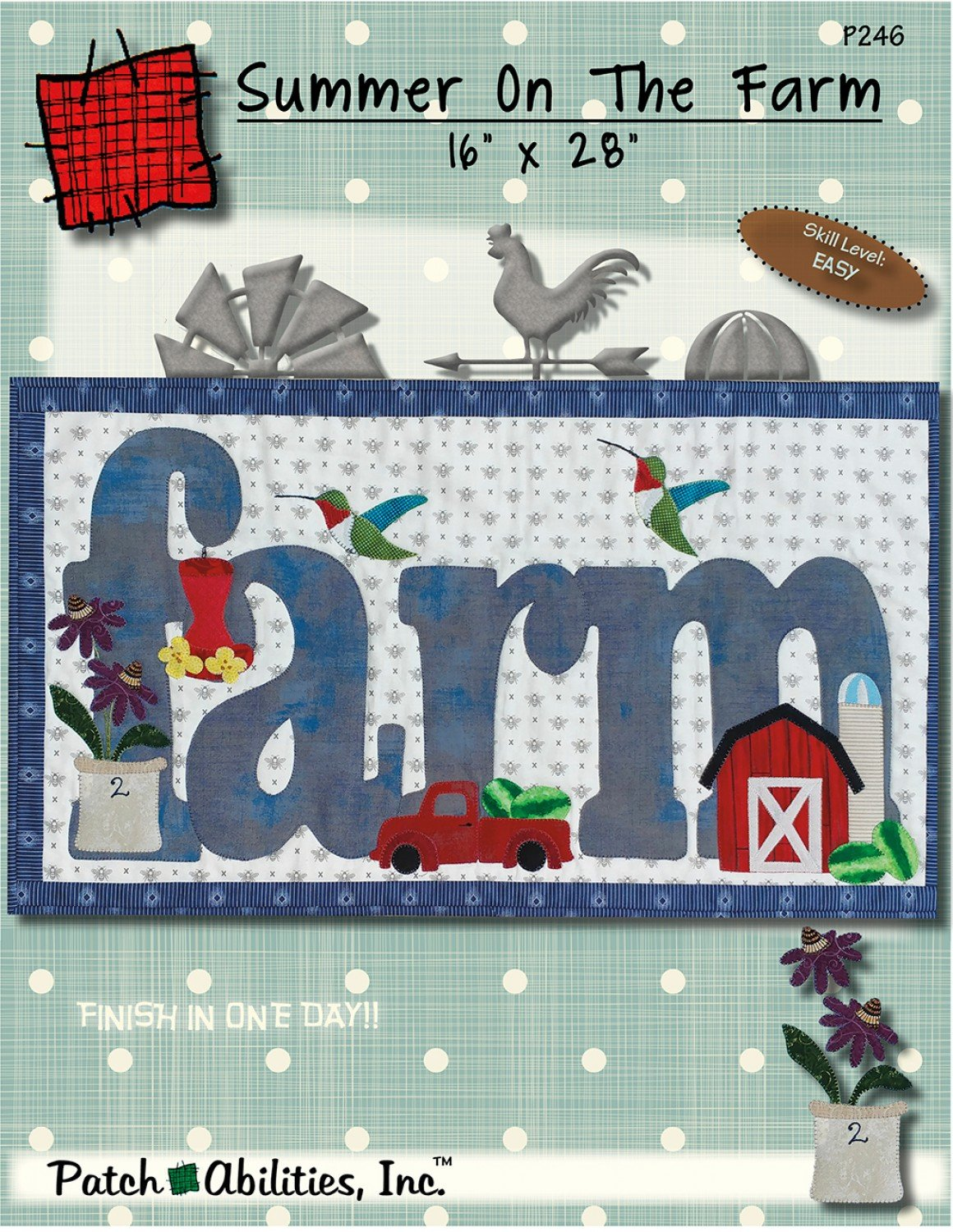Patchabilities Summer on the Farm Kit