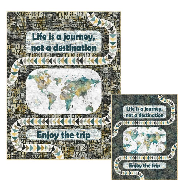 Journey Quilt Pattern