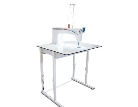 Janome Quilt Maker Pro 18 Versa Stationary Quilter (Stand Up or Sit Down Table)