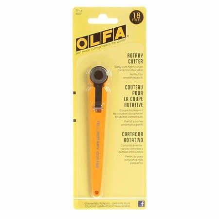 Olfa 18mm Rotary Cutter Yellow
