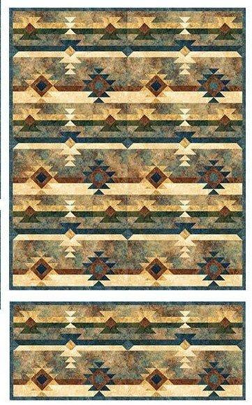 Saddle Blanket Quilt Kit 60 x 72