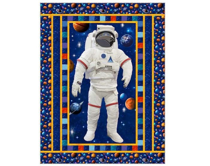 Space Walk Twin Kit 69x 89 Across the Universe