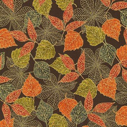 Wildwood Grace Autumn Leaves Metallic