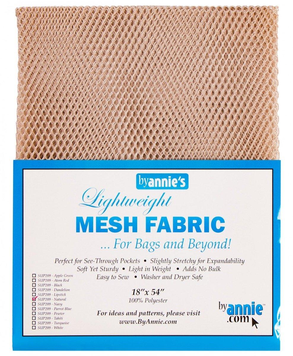 Lightweight Mesh Fabric Natural 18 x 54