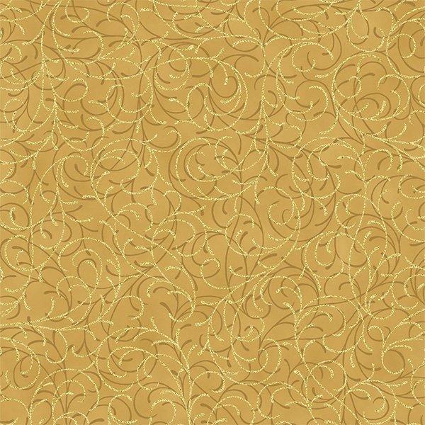 Joyful Traditions Gold Swirl on Gold