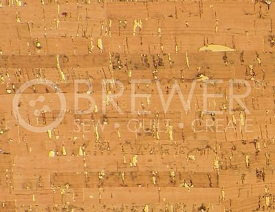 Cork Touch PRO Natural w/ Gold 1yd