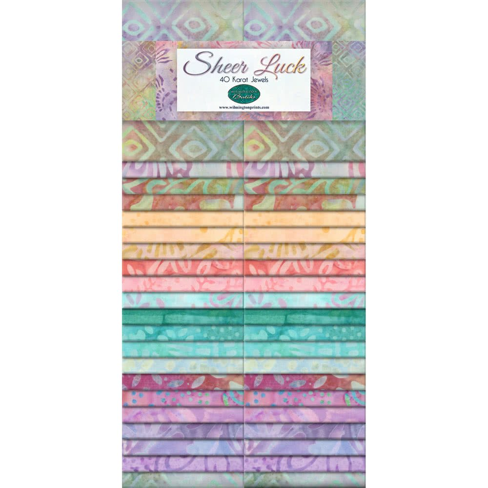 Wilmington Batiks Sheer Luck 2 1/2 Strips Jelly Roll