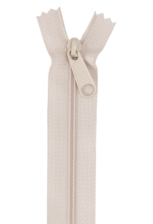 Single Slide Zipper 24 Natural By Annie