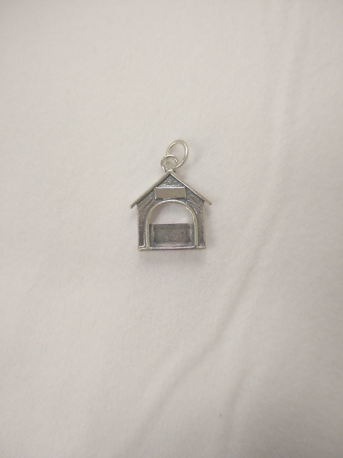 Dog House Picture Charm